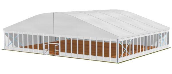 Tente dôme 25m