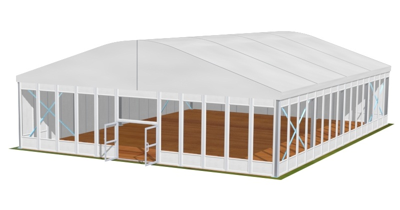 Tente dôme 15m