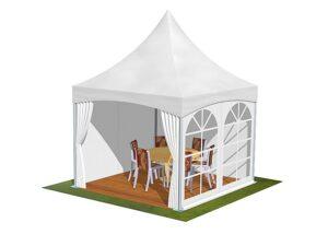 Tente de reception 3m