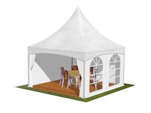 Tente de reception 4m
