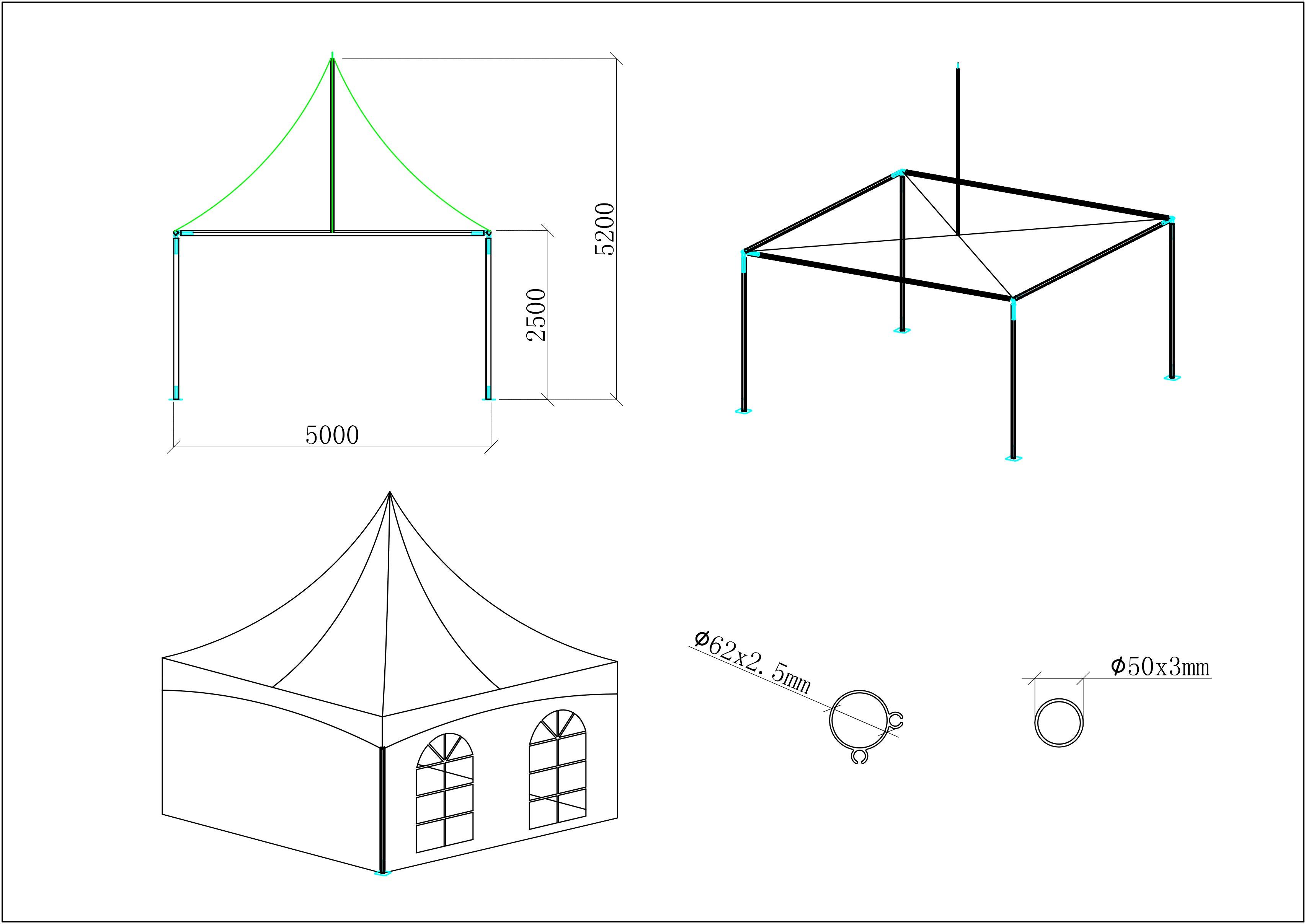Event tent 5m