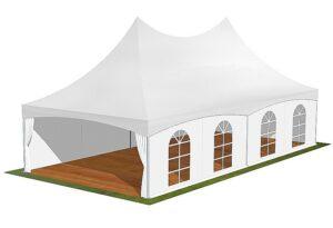 Tente de reception 6x12m