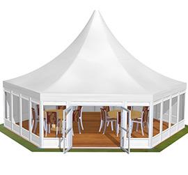 Tents Polygon Roof Pagoda